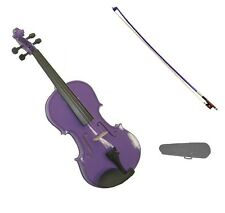 NEW 1/16 Size PURPLE VIOLIN & PURPLE BOW,CASE~ACOUSTIC STUDENT BEGINNER SCHOOL