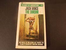 Jack Vance~The Dirdir~Planet Of Adventure #3~Ace 66901~1969