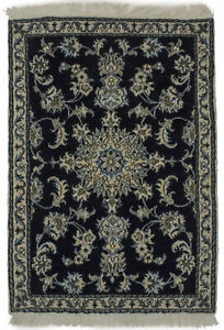 Floral Classic Design Small Size 3X4 Handmade Oriental Rug Home Entryway Carpet
