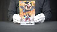 Nintendo Amiibo Super Smash Bros No.32 WARIO Boxed - 'The Masked Man'