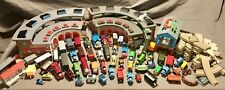 HUGE Lot of Thomas and Friends 57 Trains, Track, Tidmouth & Crovan's Shed Lot +