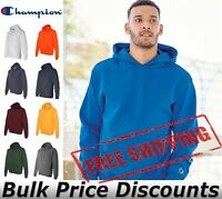 Champion Mens Double Dry Eco Hooded Sweatshirt Hoodie Pullover S700 up to 3XL