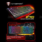 MotoSpeed K70 Backlight Gaming Keyboard USB Powered for Desktop Laptop Hot 2017