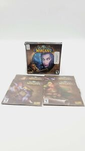 World of Warcraft (PC Game DVD-ROM) Complete 4 Disc Only
