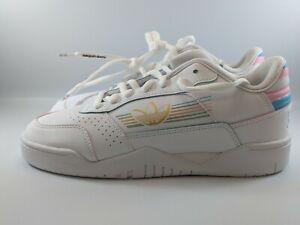 Adidas Originals Carerra Low Pride Mens Shoes Size 7.5 Cloud White FY9018