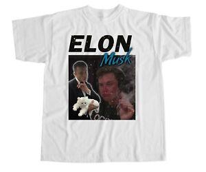 Elon Musk T shirt  Space X Joe Rogan Red Planet Occupy Mars Nerd SpaceX