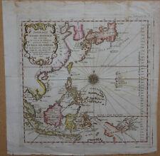 c1750 BELLIN Atlas Map, EAST INDIES & FAR EAST