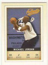 MICHAEL JORDAN 2001-02 FLEER AUTHENTIX 16 CHICAGO BULLS WASHINGTON WIZARDS HOF