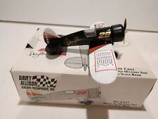 Davey Allison Travel Air Mystery Ship 1:32 Scale Die Cast Bank Victories Edition