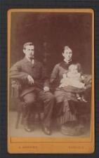 H Andrews Carlisle Lowther Street  Photographer  antique CDV photograph qa54