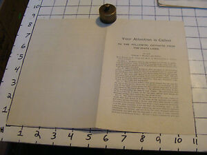 Vintage paper: Extracts from State Laws, 1893, Claremont, re: Dog Law; Hawkers
