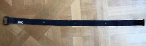 Mens Next Navy Distressed Belt Canvas 30-34 In.