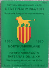 More details for northumberland rugby union centenary match 1980