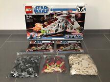 LEGO 7676 100% vollständig - StarWars Republic Attack Gunship (Anleitung & OVP)