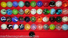 """30 MARBLES 1"""" BULK LOT FREE SHIPPING WHOLESALE GREAT 4 COLLECTING OR HAVING FUN"""