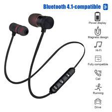 Bluetooth Neckband Headphones In-Ear Earphones With Mic Sport Running Wireless