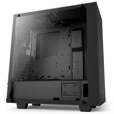 NZXT Source 340 Elite Midi Tower Gaming Tempered Glass PC Case - Black