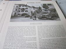 Internationales Automobil Archiv 4 Alltag 4037a Automobilismus in Österreich