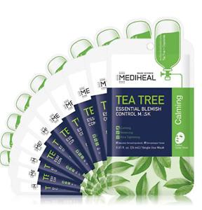 MEDIHEAL, Tea Tree Essential Blemish Control Mask ( 10 pack ), MEDIHEAL USA