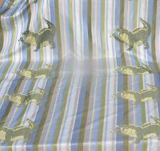 Disney Port Orleans Mardi Gras Louis Alligator stitched image fabric art Prop 1y