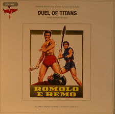 "OST - SOUNDTRACK - DUEL OF TITANS - PIERO PICCIONI 12"" LP (L930)"