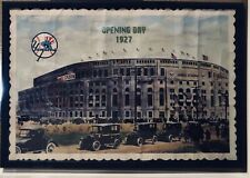1927 Yankees Opening Day Poster-Authentic-BABE RUTH-Murders Row-Frame-36x24-RARE