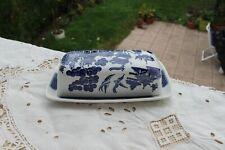 English Porcelaine  CHURCHILL   1  Beurrier  décor  Japonisant