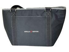 Stella Artois Insulated Tote Bag Handles Side Pocket Black