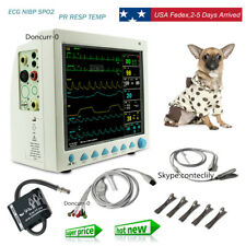 Pet Vet Veterinary Patient Monitor 6 Parameterecgnibpprspo2temprespcontec