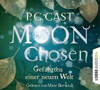 MARIE BIERSTEDT -  P.C. CAST: MOON CHOSEN.GEFÄHRTEN EINER NEWEN WELT  8 CD NEW