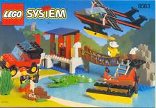 LEGO Classic Town 6563 Gator Landing 100% Complete Set