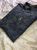 Mens Small Ben Sherman Shirt Rare Mod Floral Modern Classics Navy Casuals S