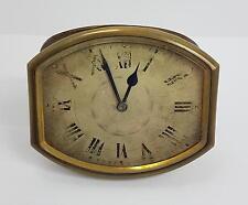 Antike Tischuhr ( HEBDO W.Co / DEPOSE 24855 ) Bastleruhr / defekt