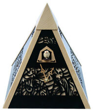 Black Forest Modern Art Cuckoo Clock Pyramid black NEW