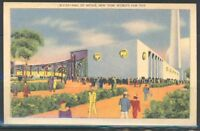 NEW YORK WORLD'S FAIR 1939 HALL OF METALS MINT POSTCARD