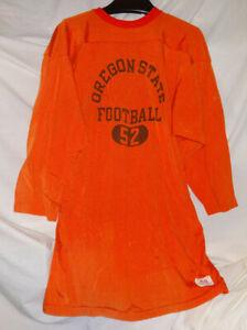 Vintage Champion Oregon State Beavers Durene Football Jersey