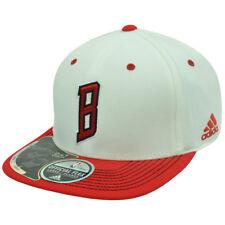 NBA Chicago Bulls TT75Z Adidas Flex Fit S/M Flat Bill Stretch Climalite Hat Cap
