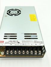 Power Supply Meanwell 15V 23.2A 350W LRS-350-15 Ac/Dc Switching kp