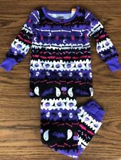 Gymboree Fair Isle Halloween 2-piece Pajamas 12-18 Months