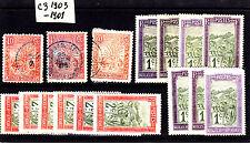 Madagascar et Dependances 1903-1908  Lot C3