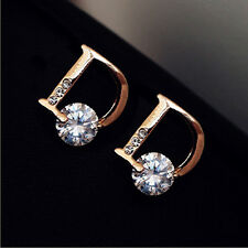 Hot Korean fashion character D Earring Stud Dior | Christmas | Birthday Gift