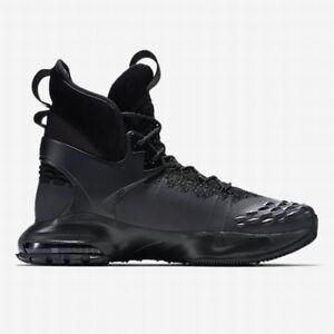 Nike Zoom Tallac Flyknit ACG UK 6 (EUR 39 Triple Black New 865947 001