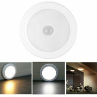 6 LED PIR Auto Cabinet Light Closet Wardrobe Cupboard Stair Motion Sensor Lamp