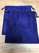 NEW NEVER USED Set of 2 Tory Burch Large Drawstring Dust Bag Jewelry Handbags