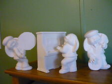 4 piece Ceramic Bunny Band Ready to paint
