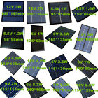 5.5/6/9/12/18V Mini Solar Cell Panel Module For Phone Battery Charger Toys Light