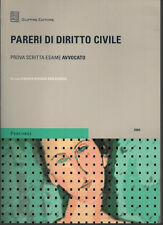 PARERI DI DIRITTO CIVILE PROVA SCRITTA ESAME AVVOCATO a cura di M.R. San Giorgio