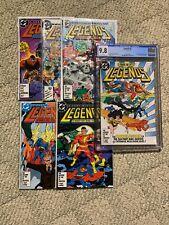 LEGENDS #1-6 Including #6 CGC 9.8 Complete Set Lot 1st Suicide Squad 1986 DC