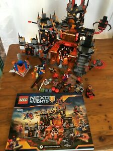 Lego 70323 Nexo Knights, Jestro`s Volcanic Lair, Pre-Owned, Complete no box.