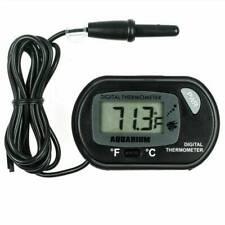 Black Digital LCD Fish Tank Aquarium Marine Water Thermometer Temperature Meter